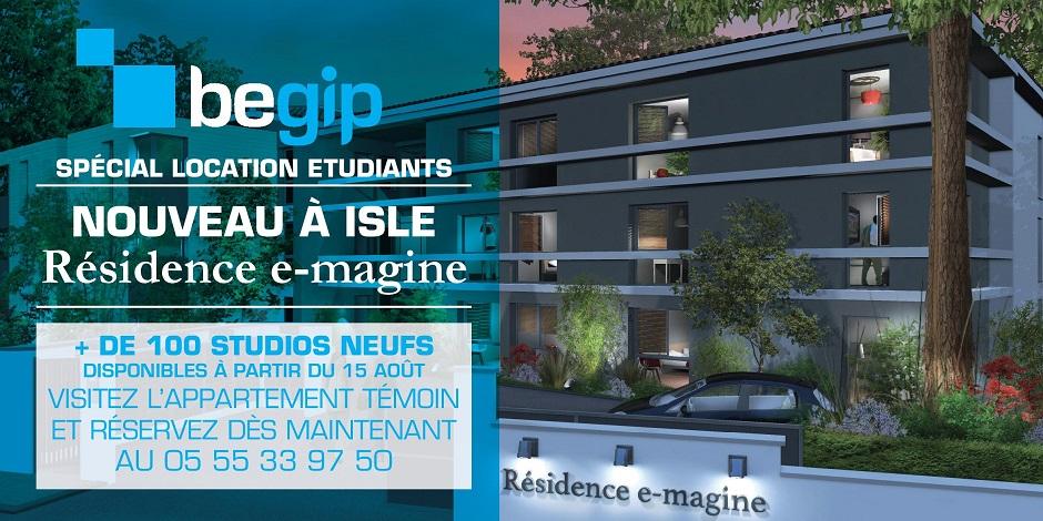 résidence e-magine